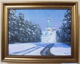 Картины, написанные к 65-летнему юбилею Ангарска_1