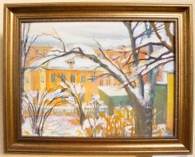 Картины, написанные к 65-летнему юбилею Ангарска_5