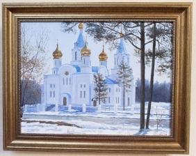 Картины, написанные к 65-летнему юбилею Ангарска_7