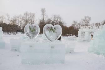 Ледовый городок на Аллее Любви_1