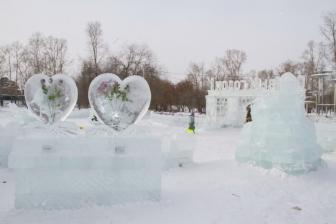 Ледовый городок на Аллее Любви_2