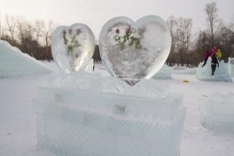 Ледовый городок на Аллее Любви_3