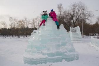 Ледовый городок на Аллее Любви_5
