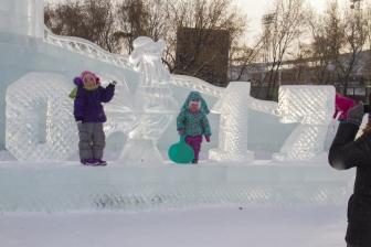 Ледовый городок на Аллее Любви_7