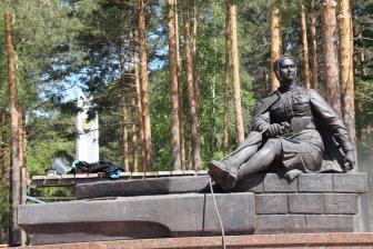 Памятник первостроителям. Установка. _8