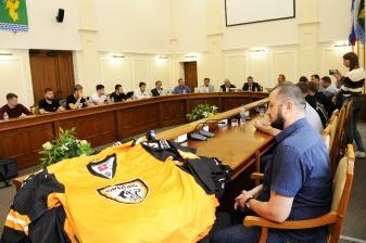 Встреча мэра с командой