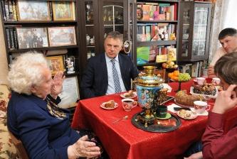 Сергей Петров в гостях у Юзефы Косовой